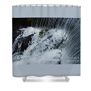 A Waterfall In Bantry, Ireland Shower Curtain