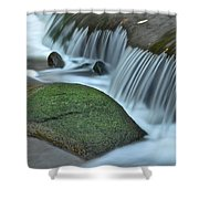 Waterfall Close Up Shower Curtain