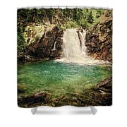 Waterfall Dreaming Shower Curtain