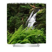 Waterfall Fern Square Shower Curtain