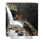 Waterfall Flume Gorge - Nh Shower Curtain