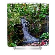 Waterfall Garden Shower Curtain