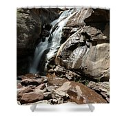 Waterfall In Colorado Shower Curtain