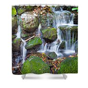 Waterfall In Marlay Park Shower Curtain
