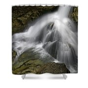 Waterfall In The Rocks Shower Curtain