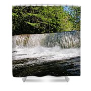 Waterfall In Woodstock Vermont Shower Curtain
