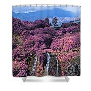 Waterfall Kauai Hawaii  Shower Curtain