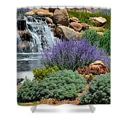 Waterfall Lanscape Shower Curtain