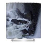 Waterfall Motion Shower Curtain