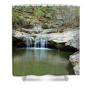 Waterfall On Piney Creek Shower Curtain