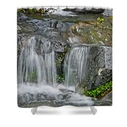 Waterfall On The Paradise River Shower Curtain