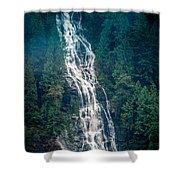 Waterfall Princess Louisa Inlet Shower Curtain