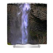 Waterfall Spray Shower Curtain