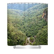 Waterfall Valley Shower Curtain