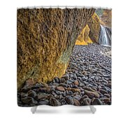 Waterfalls At Hug Point Shower Curtain