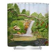 Waterfalls At Red Butte Garden Shower Curtain