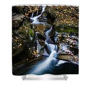 Waterfalls At Watkins Glen Shower Curtain