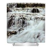 Waterfalls Flowing Shower Curtain