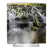 Waterfalls In Marlay Park Shower Curtain