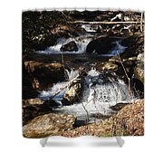 Forever Flowing Shower Curtain