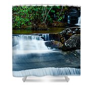 Waterfalls Of Carreck Creek Shower Curtain