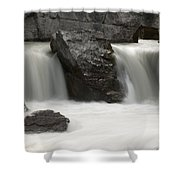 Waterfalls On Nigel Creek Shower Curtain