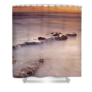 Waterfalls On The Rocks Shower Curtain