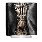 Waterford Crystal Shaving Brush 2 Shower Curtain