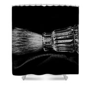 Waterford Crystal Shaving Brush Shower Curtain