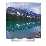 Waterfowl Lake Shower Curtain