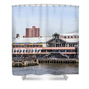 Waterfront 3 Shower Curtain