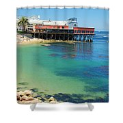 Waterfront At Cannery Row Shower Curtain