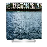 Waterfront Colors Shower Curtain