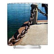Waterfront Trail Shower Curtain
