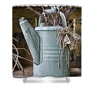 Watering Can Pot Shower Curtain