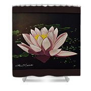 Waterlilly Shower Curtain