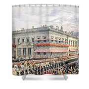 Waterloo Place And Pall Mall Shower Curtain