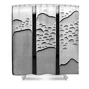 Watermarked Shower Curtain