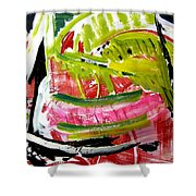 'watermelon' Shower Curtain