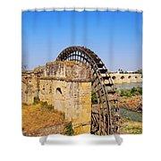 Watermill In Cordoba Shower Curtain