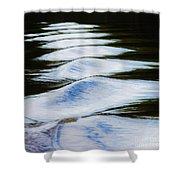Watermountains Shower Curtain