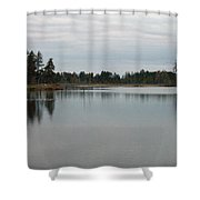 Water's Calm Shower Curtain