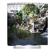 Waterway View Inside The Opryland Hotel In Nashville Tennessee In 2009 Shower Curtain