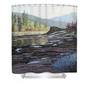 Waterways Shower Curtain
