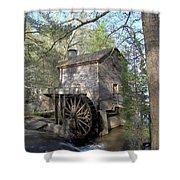 Waterwheel At Stone Mountain Shower Curtain