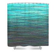 Watery Deep Shower Curtain