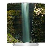 Watkins Glen Bridal Veil Shower Curtain