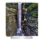 Watkins Glen Cascade Shower Curtain