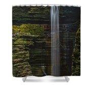 Watkins Glen Central Cascade Shower Curtain