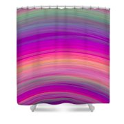 Wave-01 Shower Curtain